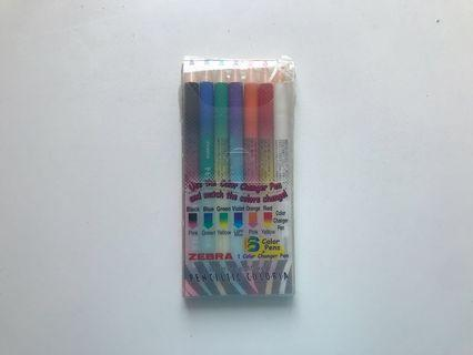 Zebra Water-based Marker (with changeable colours)