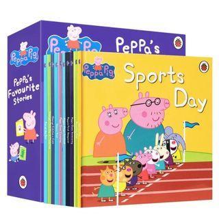 Peppa pig兒童英文故事書