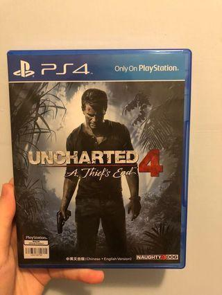 (95%新) PS4 Uncharted 4
