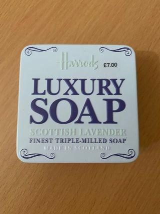Harrods Luxury soap Scottish lavender 皂 薰衣草