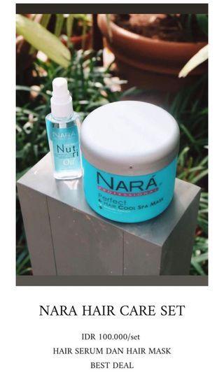 Nara Hair Care set