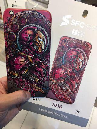 Ironman 鋼鐵人 iPhone 手機背貼(包SF)