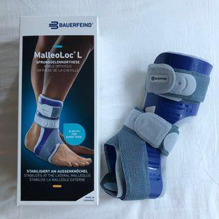 🚚 AS NEW! 40% off! Bauerfeind - MalleoLoc L - Ankle orthosis (support/stabiliser)