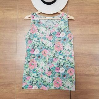 niko and… 花花背心 Floral Print Vest Top