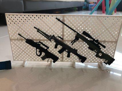 1/6 gun rack