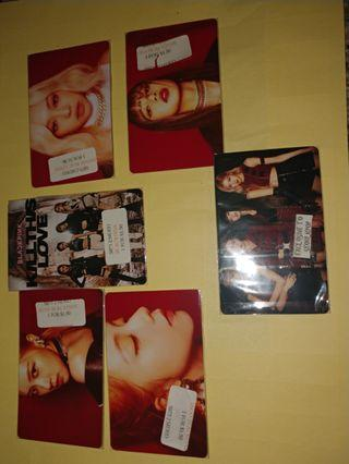 Exclusive Blackpink kill this love 2 sided lomo photo