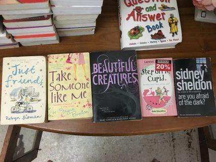 Novel English Various