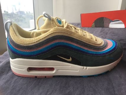 Nike NIKE AIR MAX 1 PREMIUM RETRO RED CURRY Air Max sneakers size men US8.5 red X beige rank N 102 31H18