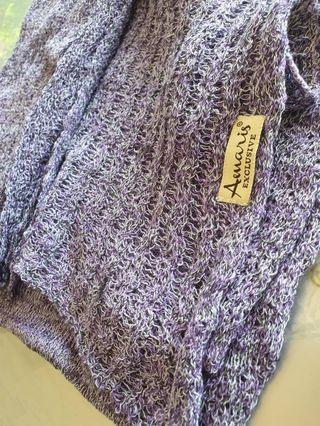 Amaris Knitted instant deep purple rm20 New