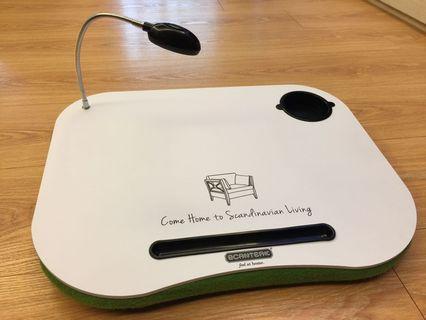 詩肯柚木 攜帶型 筆電 桌板