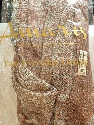 Amaris airbrush bronze Knitted instant rm20 New