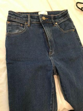 NEW Abrand high skinny denim jeans