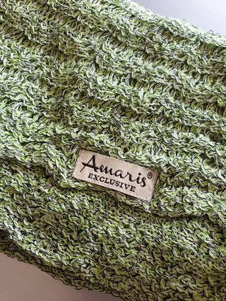 Amaris Instant Knitted green Rm20 New
