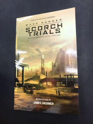 🚚 Maze runner the scorch trials official graphic novel prelude