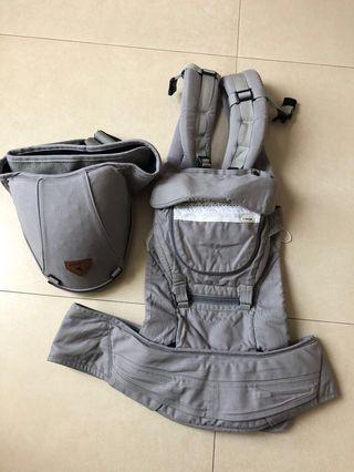 I-angel MIRACLE Hipseat + Baby Carrier (初生揹帶+坐墊式揹帶)