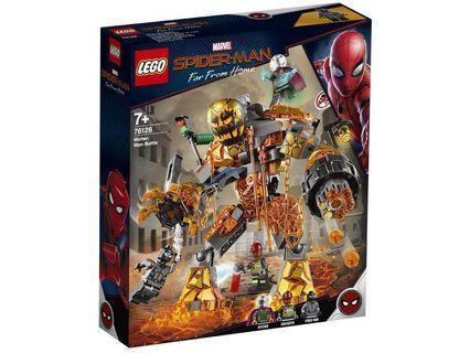 Lego Marvel Spiderman Far from Home. Molten Man Battle (76128)