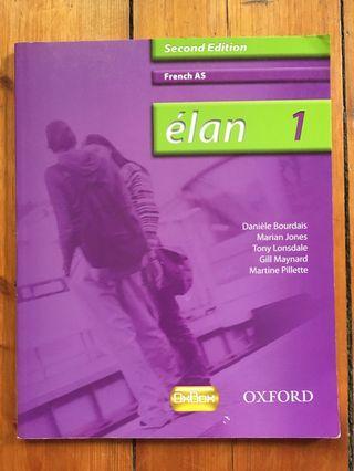 French AS élan 1 book