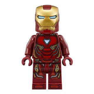 LEGO Iron Man MK 50 / MK L Nanotech Suit Minifigure from LEGO set 76125 (new)