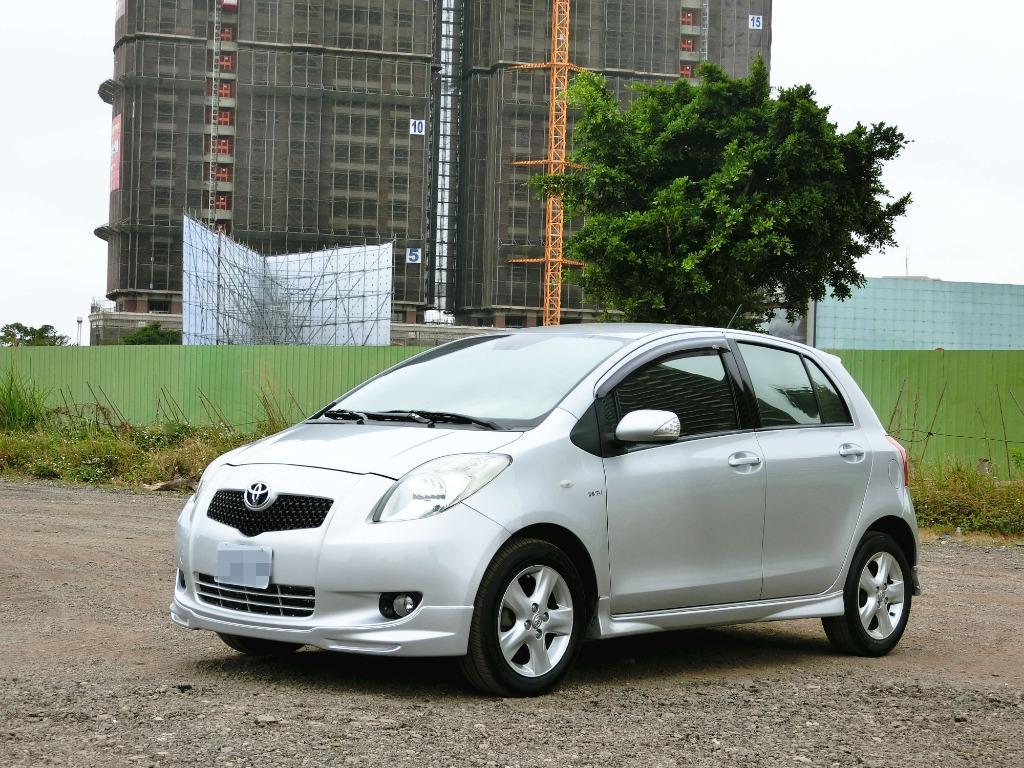 賣13萬跑8萬多~2007年 Toyoya Yaris 小鴨實車實價 需要其他內裝跟我說
