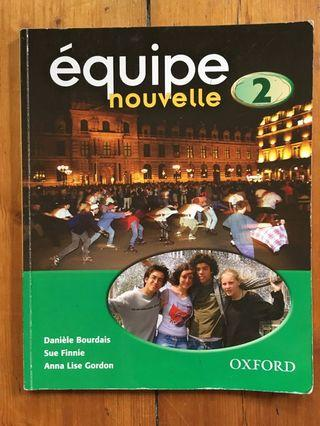 Equipe Nouvelle 2 Student Book