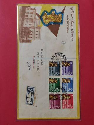 Singapore 1959  New Constitution First Day Cover