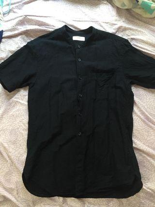Uniqlo 麻質裇衫 Navy Blue Linen shirt