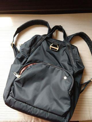 Pacsafe backpack citysafe CX RFID travel laptop bag