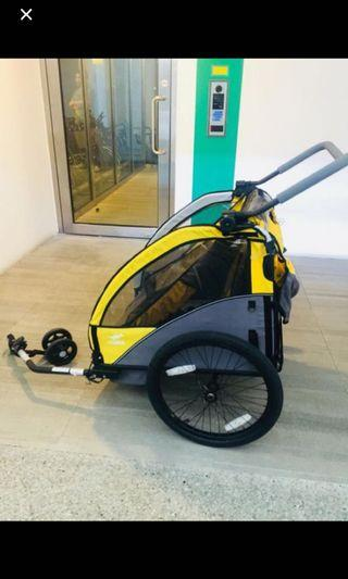Burley bike carrier
