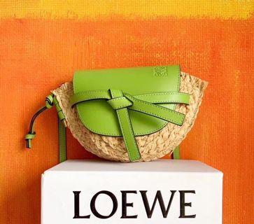 Loewe編織側背包 斜背包