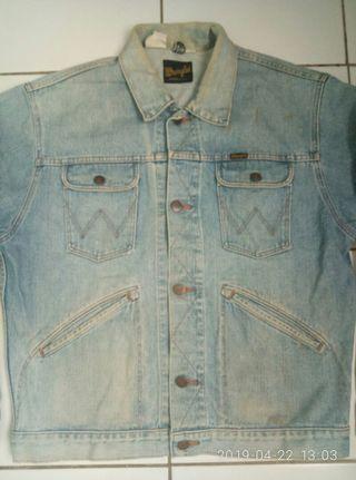 Jaket Jeans wrangler (Ar125)