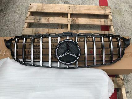 Brand New Mercedes Benz C Class W205 GT Grille