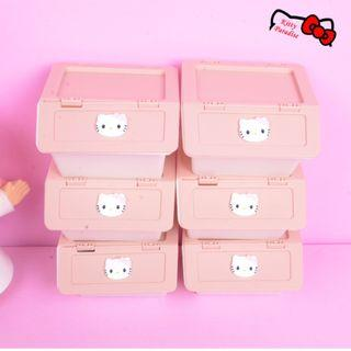 6pcs Hello Kitty Multipurpose Container Case #EST50