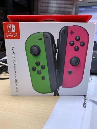 🚚 Nintendo Switch Joy-con (Green/Pink Joycon)