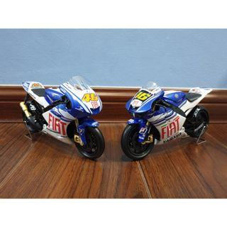 Newray 1:12 Yamaha Fiat #46 Rossi Motogp Diecast Motor