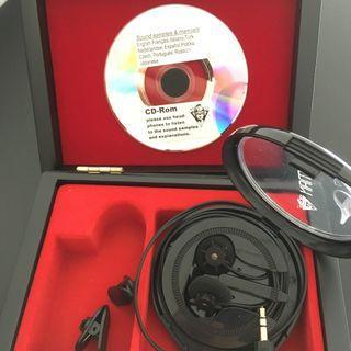 Soundman OKM Classic II solo binaural microphones (for GH5, BMPCC etc)