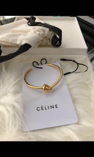 Authentic Céline Knot Bracelet