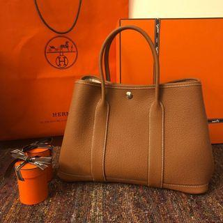 🚚 Hermes Garden Party 30 with optional twillies (used once)