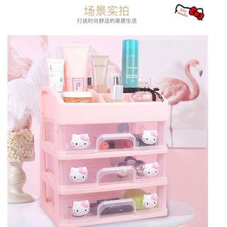 Hello Kitty Jewellery Cosmetic Storage Box Makeup #EST50