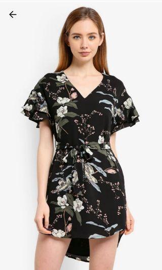 ZALORA Ruffle Tunic Dress