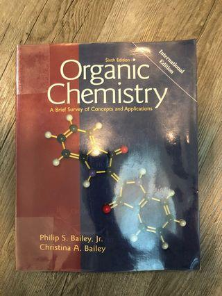 🚚 Organic chemistry textbook