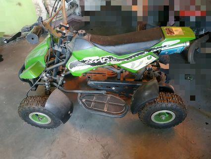 ATV tanpa Mesin Kerangka Nya Aja