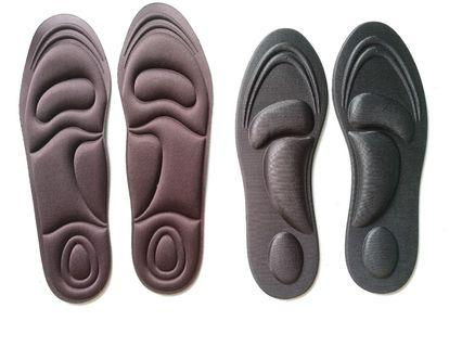 Shoe Insoles Inserts 3D Arch Ball Heel Support BN
