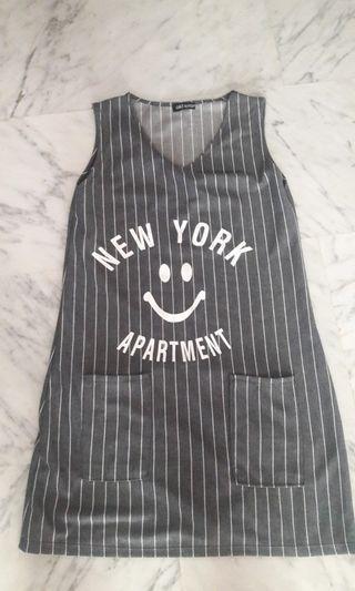 🖤 Grey New York Dress