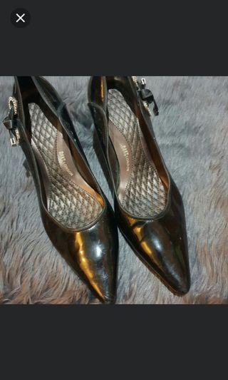 Black patent DAKS shoes