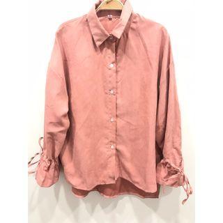 🚚 (全新)綁袖襯衫上衣 #半價衣服拍賣會