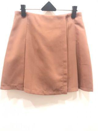 🚚 (全新)粉膚色A字裙 #半價衣服拍賣會