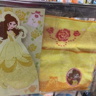 日本現場購買belle 方形手巾 小童手拍  限定發售$39 Whatsapp 56963033 一百蚊三條$100for3