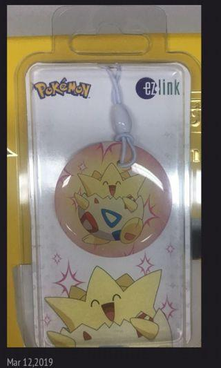 BNIP - Ezlink Charm Pokemon - 3 years, no load value