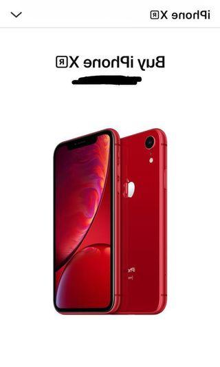 Brand new iPhone XR product red 256gb. Not negotiable