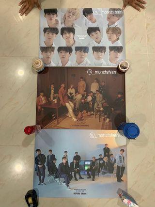 SEVENTEEN OFFICIAL YMMDAWN POSTERS